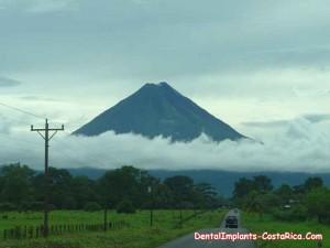 Beautiful Volcano in Costa Rica