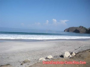 A pristine beach in Costa Rica