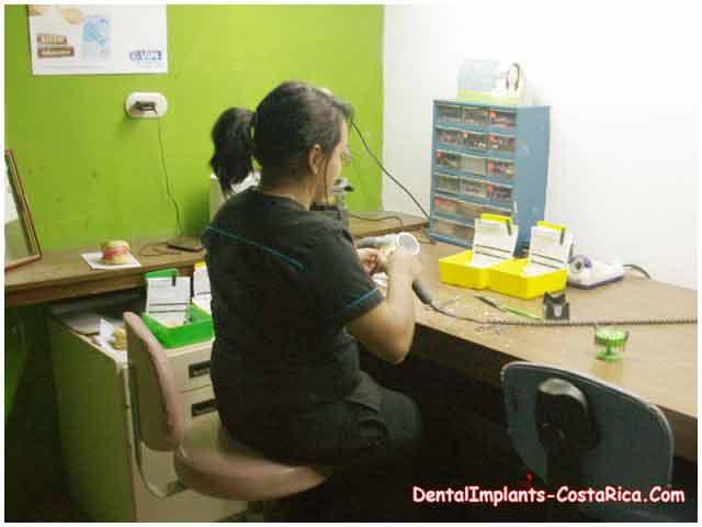 Dental Technician at Work