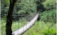 Hanging Bridge in Central America